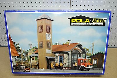 LGB/POLA 992 Fire Station Building Kit *G-Scale* NEW