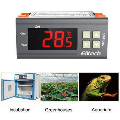 Elitech STC-1000 All-purpose Temperature Controller Thermostat Aquarium, Sensor