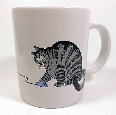Bill Kliban Cat Coffee Cup Mug - Almost 30 Years Old - Excellent Condition!!