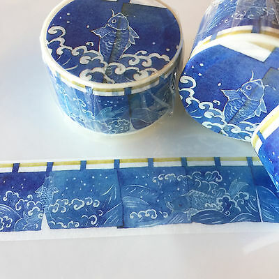 Washi Tape Wide Japanese Door Curtain Noren 26Mm Wide X 5Mtr Roll Craft Wrap
