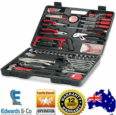Tool Kit Set Car Roll Toolkit Box Home DIY Kit Household Spanners Screwdrivers