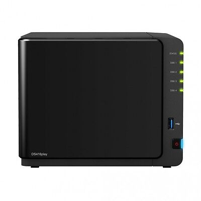 SYNOLOGY DS416play 4-Bay NAS-Gehaeuse 1,6GHz CPU 1