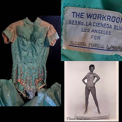 Eleanor Powell Personal And Stage Worn Costume
