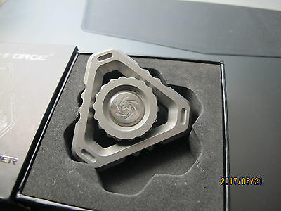 Mechforce Deltacore Stonewash Gray Fidget Spinner NEW