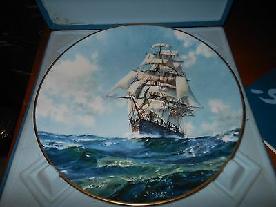 "Royal Doulton Ltd Ed Collector's International Plate ""running Free"" John Stobart"