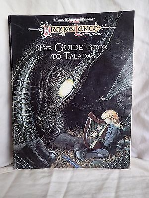 Time of the Dragon: Guidebook to Talados (TSR 1050 AD&D Dragonlance)