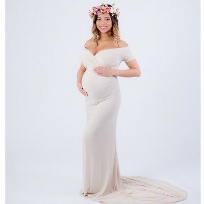 35 Colors Maternity Short Sleeved Dress-maternity Gown-baby Shower Dress