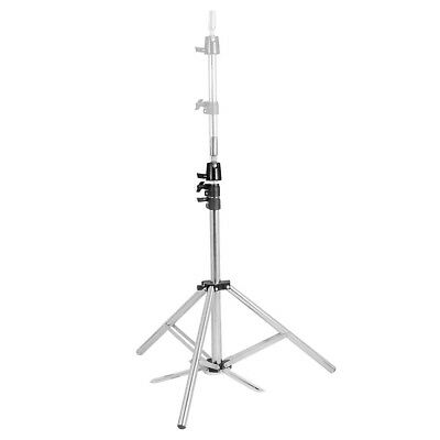 160cm Stainless Steel Tripod Stand Adjustable Hairdressing Mannequin Head Holder
