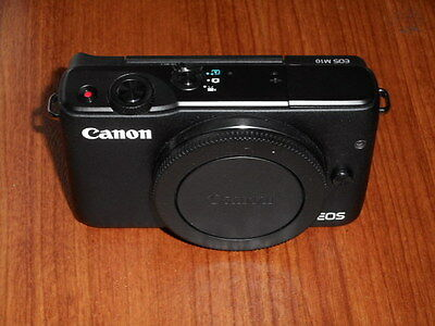 READ FIRST - NEW Canon EOS M10 18.0MP Camera  - BLACK - Body ONLY - Nothing Else