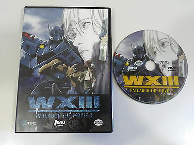 Patlabor The Movie 3 Wxiii Dvd Español Japones Region 2 Jonu Media Anime