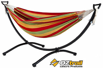 OZtrail Double Anywhere Hammock with Frame Outdoor Camping Chair FHA-HDF-A