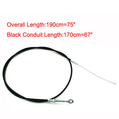 "Go Kart Throttle Cable 75"" Long 67"" Casing 8251 For American Sportworks Manco"