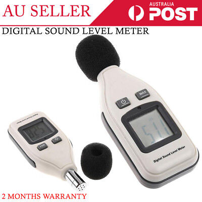 New GM1351 Digital Sound Noise Level Meter 30-130 dB Monitor Decibel Pressure