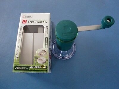 KYOCERA Ceramic Green Tea Mill Grinder CM-50GT New Beauty&Health Japan