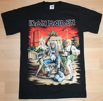 Iron Maiden, Germany Event Shirt 2011, Gr. S, ultra rar, rare
