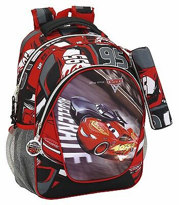 CARS 3 Mochila adaptable a carro + estuche // rucksack, backpack