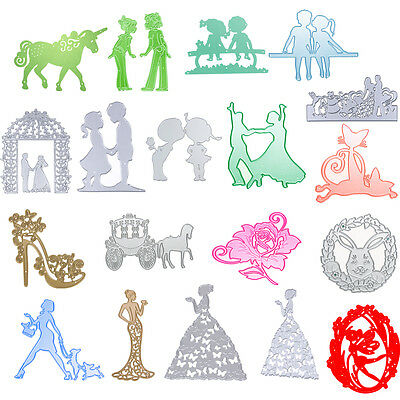 50 Type Metal Cutting Dies Stencil Scrapbook Paper Card Craft Embossing For DIY