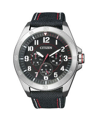 NEW Citizen Mens Stainless Steel Eco-Drive Casual Watch - BU2030-17E