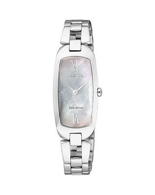 NEW Citizen Ladies Stainless Steel Eco-Drive Dress Watch - EX1100-51D