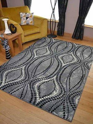 New Silver Dark Grey Small Extra Large Big Huge Size Floor Carpet Rugs Mat Cheap