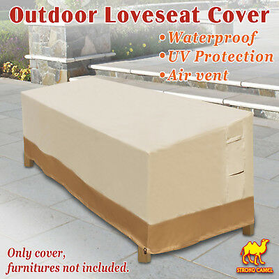 Large Patio Sofa Loveseat & Bench Cover Furniture Protector Weather Protection