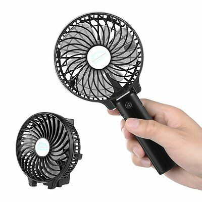 EasyAcc Handheld Electric Fans Mini USB Portable Fan with Rechargeable Battery