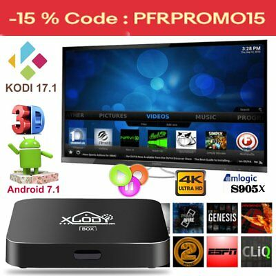 XGODY Quad core Android 7.1 TV BOX KODI 17.1 S905X TX3PRO 4K Movies sports WIFI