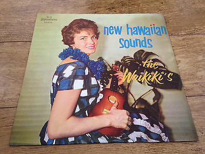 New Hawaiian Sounds The Waikiki's Brazilian LP easy listening jazz latin