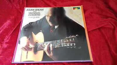 Julian Bream plays Granados and Albeniz music of spain volume 5 Vinyl LP