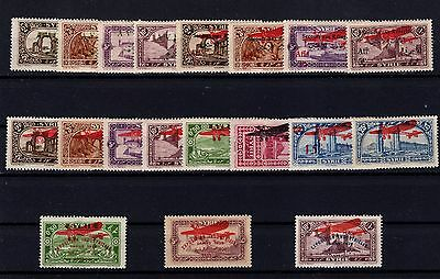 P29021/ Syrrie / Syrria / Pa / Airmail / Maury # 26 / 42 – 46 / 47 Mh 83 €