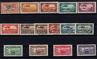 P29023/ Syrrie / Syrria / Pa / Airmail / Lot 1922 – 1937 Neufs / Mint 106 €