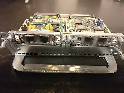Cisco NM-2V VIC-2FXS VIC-2FXO Cards VoIP CCVP