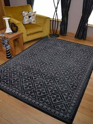Pattern Black Grey Small Extra Large Big Huge Size Floor Carpet Rugs Mat Cheap