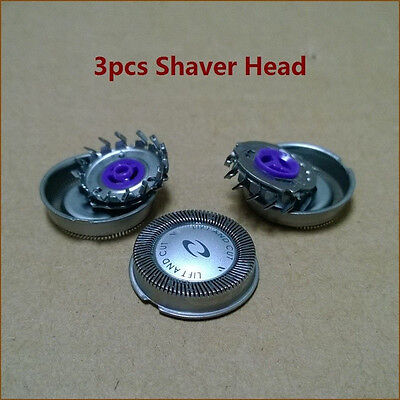 3x Man Shaver Head Blade for Philips Norelco HQ3 HQ56 HQ55 HQ442 HQ300 HS1 Razor