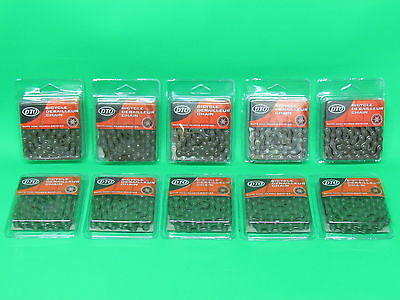 Wholesale Job Lot 5/6/7/8 Multi Gear Speed Bike Bicycle 10x Chains 1/2 x 3/32""