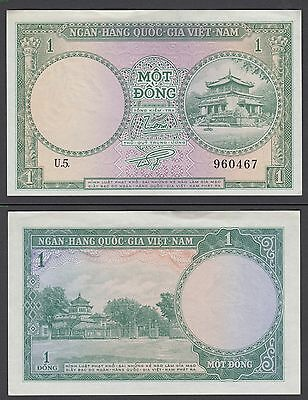 Vietnam 1 Dong ND (1956) (XF) Condition Banknote P-1 South