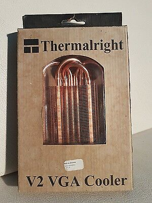 Disipador refrigerador VGA Thermalright V2 Cooler cobre copper universal