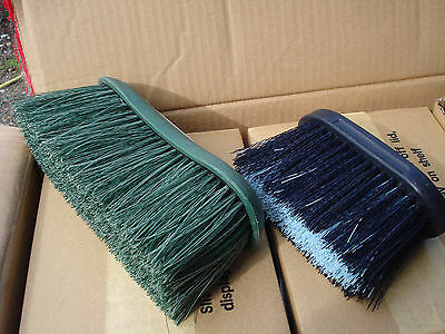 JOB LOT OF 3 Large & 3 Small, Long Bristle  Dandy Brushes Horse Pony Grooming