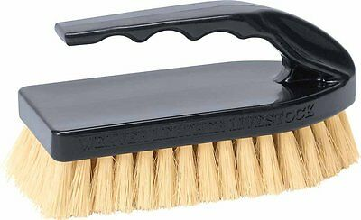 Weaver Leather Pig Brush with Black Handle