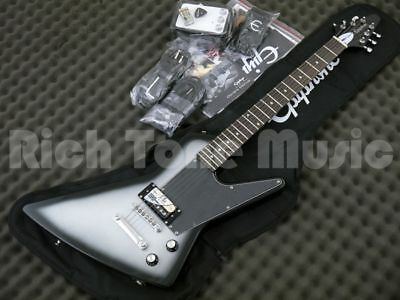 Epiphone PRO-1 Explorer Performance Pack - Silverburst