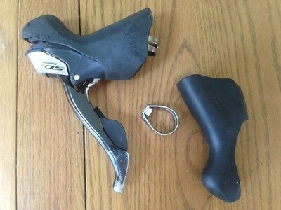 R920 Shimano 105 5700 St-5700 Left Hand Lh Double Shifter Gear Lever Sti