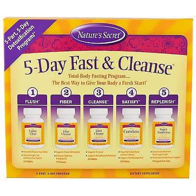 5-Day Fast & Cleanse, 5-Part, 5-Day Program