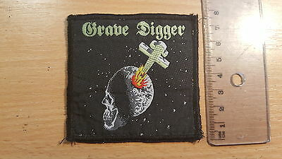 Grave Digger Heavy Metal Breakdown patch sew on collectors piece rare vintage