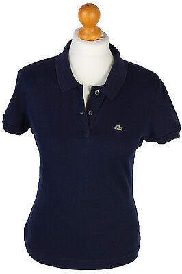 LACOSTE SPORT SUMMER COTTON SHORT SLEEVE POLO SHIRT DESIGNER -Navy M- PT0737