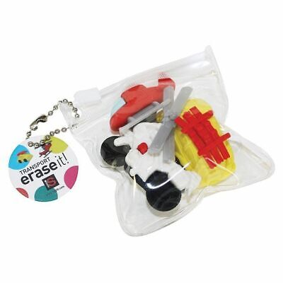 NEW Erase It Transport Pack of 3 Transport Figurines Toys