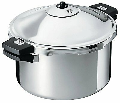 Kuhn Rikon Duromatic Hotel 18/10 Stainless Steel Pressure Cooker 12L