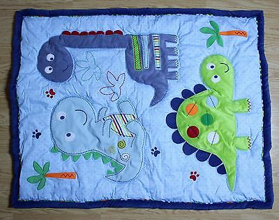 BANANAFISH Little Dino Quilt Comforter Bedding 36 x 42