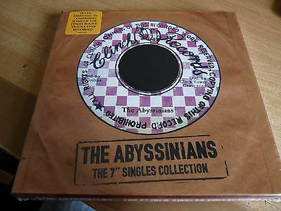 """THE ABYSSINIANS 7"""" SINGLES COLLECTION - 7 x 7"""" SINGLE BOX SET -  - NEW & SEALED"""