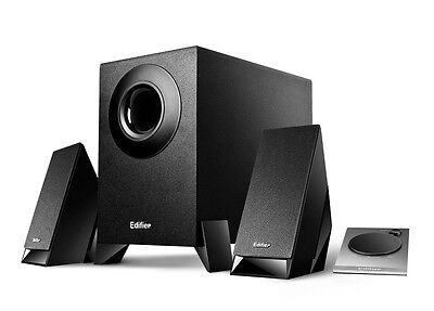 Edifier 2.1 Speaker System with Satellites and Down Firing Subwoofer M1360