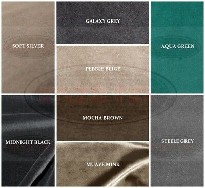 Plain Velvet Upholstery - Curtain Fabric Sold By The Metre